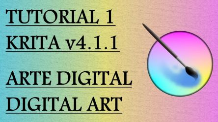 Tutorial 1 Krita (subtitle in different languages) by Fractalico