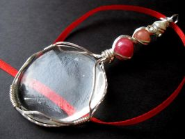 'Love Magnified' pendant by cRavE-12