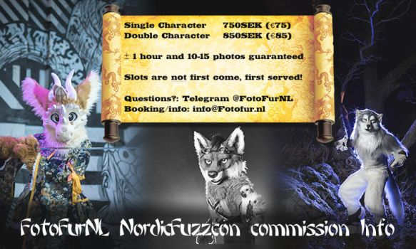 Commission Info NordicFuzzCon by FotoFurNL