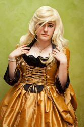 Draped in Gold by Treacly-stock