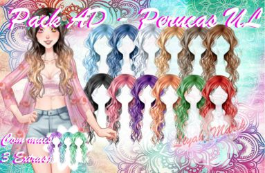 AD - Pack - Cabelo solto e cacheado by LiyahMarih