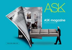ASK magazine concept 2012 by MagedB