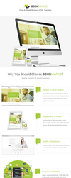 BookMarks - Clean and simple HTML Template by pixel-industry
