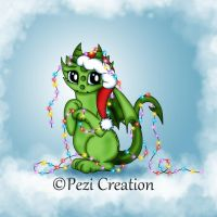 Xmas Dragon by PeziCreation