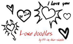 Love doodles by 99-in-the-shade
