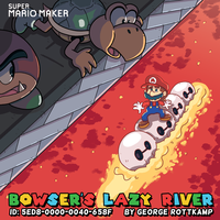 Super Mario Maker: Bowser's Lazy River by GeorgeRottkamp