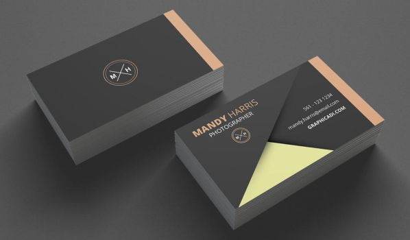 Free Business Card Template for Photoshop by Graphicadi