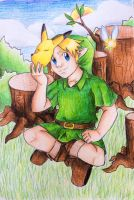 Young Link by DynamicFlamez
