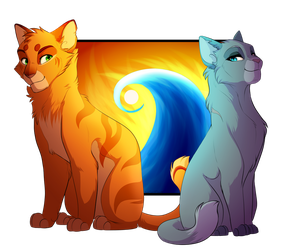 Fire and the Flame by PureSpiritFlower