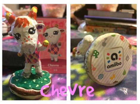 Animal Crossing New Leaf Amiibo - Chevre by DaMee-Momma