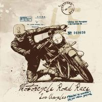 MOTORCYCLE ROAD RACE by vectorgraphic-design