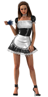 Hot Sexy French Maid - Sexy 3D by staceyli