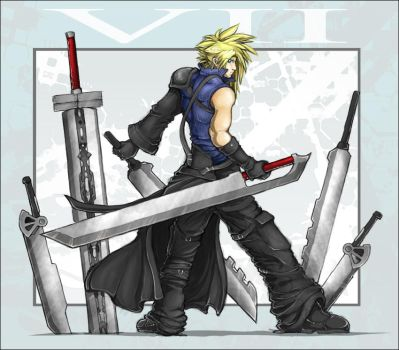 FFVII - Still More Fighting by zankara