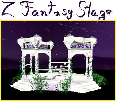 Z Purple Night Fantasy Gazebo  -Download- by ZinniaE