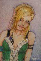 Commission - ACEO - Theia by Crida