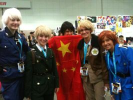 Anime Expo 2012 Hetalia By Fainting Ostrich