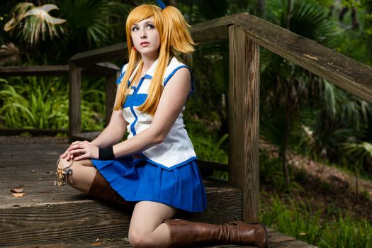ShawnCon  2012 - Fairy Tail | Lucy by elysiagriffin