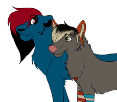 SHANE and Clyde by DatBlueLion