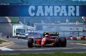 Alain Prost (Hungary 1991) by F1-history