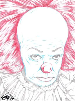 PENNYWISE 1990 PENCIL by ARTofTROY