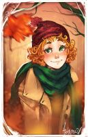 Fall Freckles by DreamerWhit