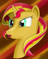 Sunset Shimmer by nzslice