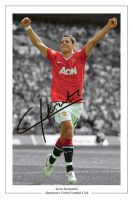 Javier Hernandez Signed Photo by Maxpein