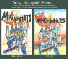 Before and after - Machinauts RP poster by MidnightDJ-SK