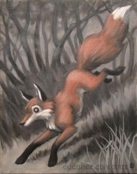 The Quick Red Fox by shmeeden