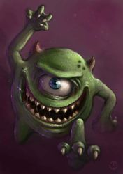 Mike - Monsters Inc by TomallicA