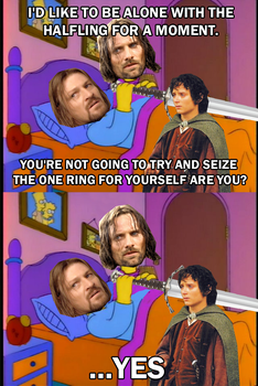 The Fall of Boromir by Party9999999