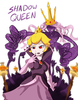 Shadow Queen Paper Mario Ttyd by HiImThatGuy