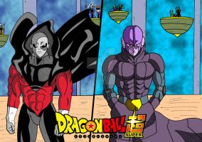 [DBS] - Hit vs Jiren by Cheetah-King
