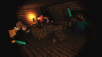 Richard vs Herobrine by RichardtheDarkBoy29