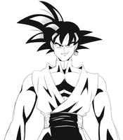 Goku Black by ss2sonic