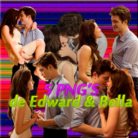 Pack PNGS Edward y Bella by MajoAlgo