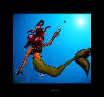 Beneath The Waves Color by fablehill