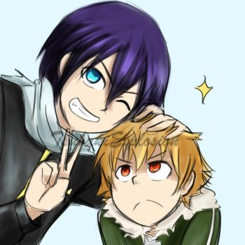 Yato and Yukine by TsubakiExplosion