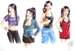 Female Character Styles Tryout1 by ArsenicsamA