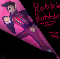 Robbie Rotten's Number one!! by Lavenderdadragon14