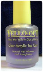 Yellow Out Clear Acrylic Top Coat by Wonderfuday