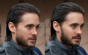 Before and after Jared by marinamaral
