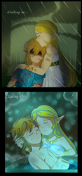 ZeLink Month: Holding On and Letting Go by TeLinkfan1
