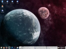 My desktop by grini