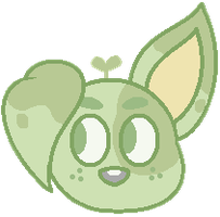Plant puppy by mintytealeaves