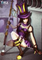 Caitlyn League Of Legends by YarickArt