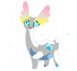 Shiny Amaura by Willow-Pendragon