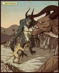 ...Deathclaws! by NorthWing