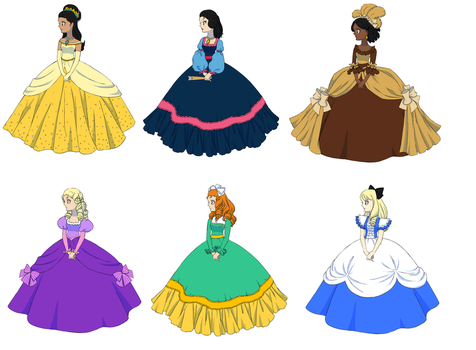 Rose of Versailles Disney 2 by UberxMoMo