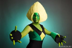 Peridot SU Cosplay by Sioxanne